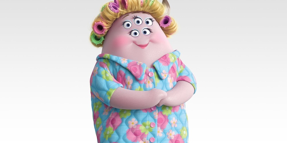 Ms. Squibbles from Pixar's Monsters University, movies
