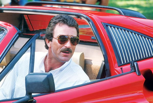 driving, Vintage, Sports Car, Tom Selleck