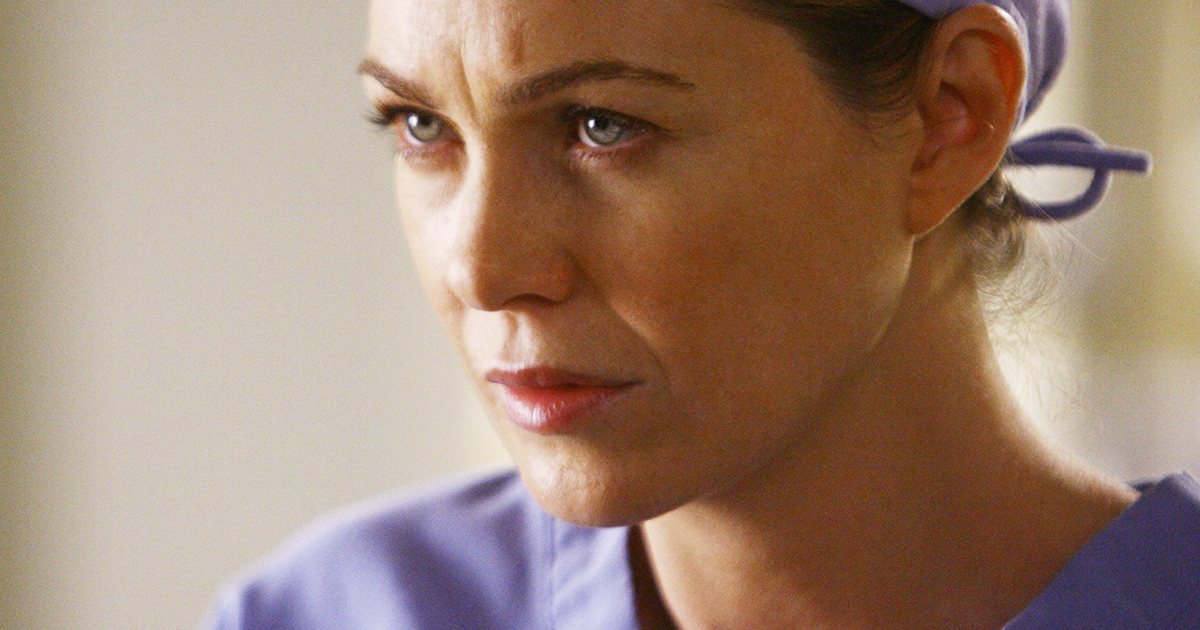 Ellen Pompeo reveals when grey's anatomy will end for good, meredith grey angry upset season 1