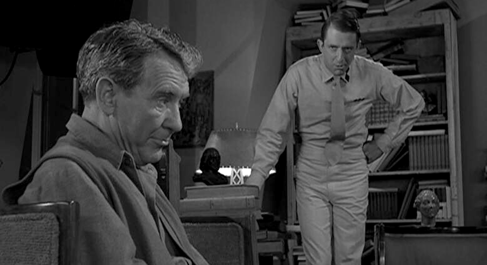 tv, The twilight Zone, the obsolete man, burgess meredith