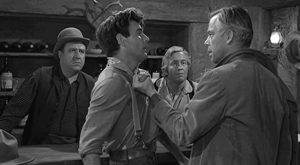 tv, The twilight Zone, the grave, lee marvin
