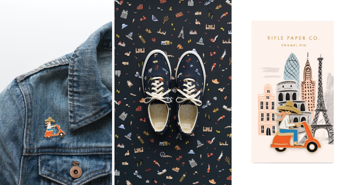 Rifle Paper Co. Limited Edition Keds Collection