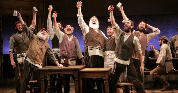 actors of Fiddler on the Roof Musical on stage, ranking