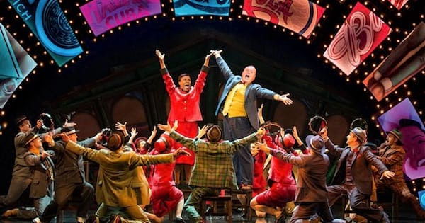 Guys and Dolls musical on stage colorful, ranking