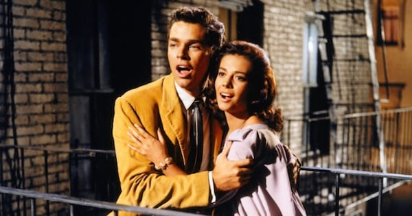 Richard Beymer and Natalie Wood in West Side Story, musical ranking