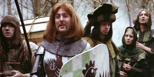 Monty Python and The Holy Grail, 70s, 70s movie, movies