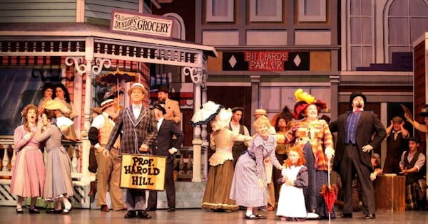 The Music Man musical on stage actors, ranking