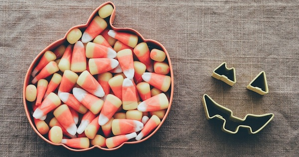 candy corn in pumpkin shape cutout halloween, ranking