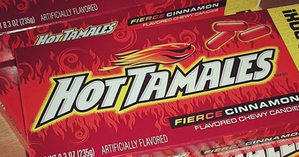 Hot Tamles Halloween candy box, ranking