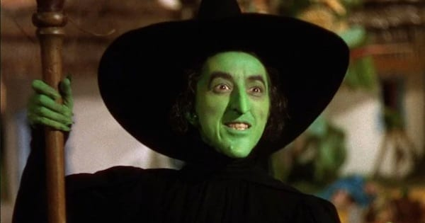 The Wicked Witch of the West green face, halloween ranking