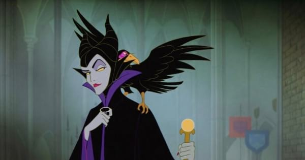 Maleficent evil animated witch Sleeping beauty, ranking halloween