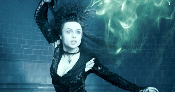Bellatrix LeStrange witch casting spell Harry Potter, ranking