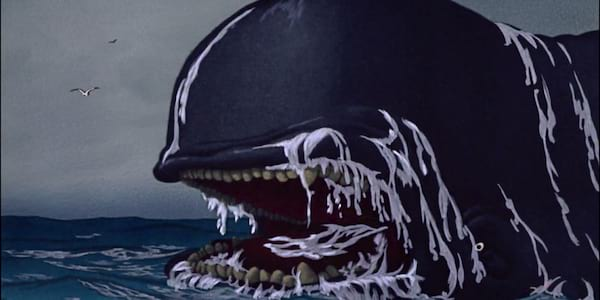 Monstro in the sea from Disney's Pinocchio, movies