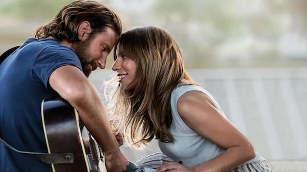 Bradley Cooper and Lady Gaga in \A Star Is Born\