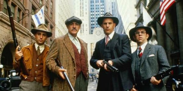 The Untouchables, movies, action movie