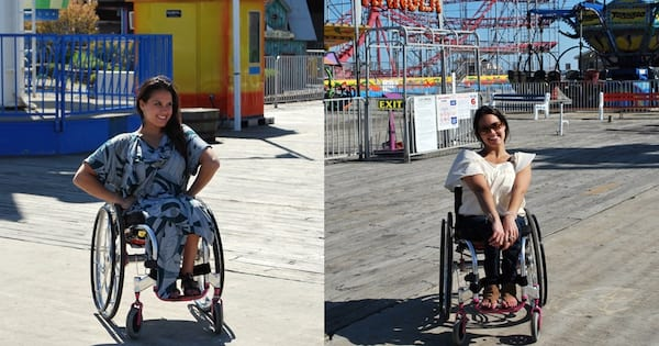 Clothing Companies Making Fashion Accessible for Disabled People, two photos of a woman in adaptive clothing, fashion, health