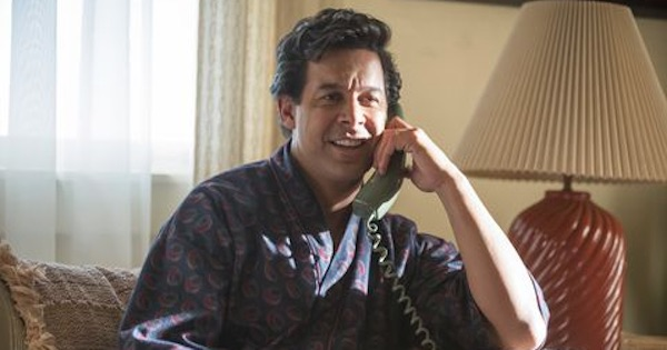 Miguel Rivas on phone This is Us, ranking