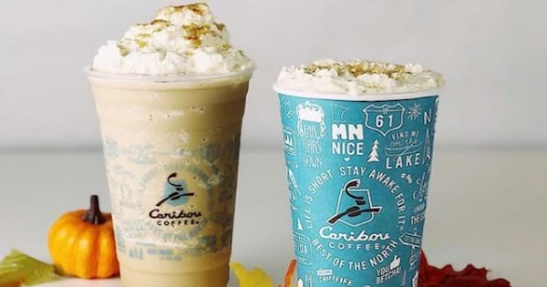 cups of hot and cold Caribou Coffee, ranking