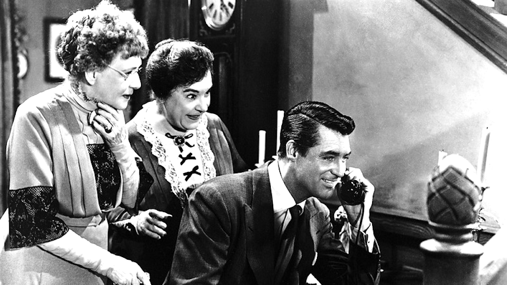 movies, arsenic and old lace, 1944, Cary Grant