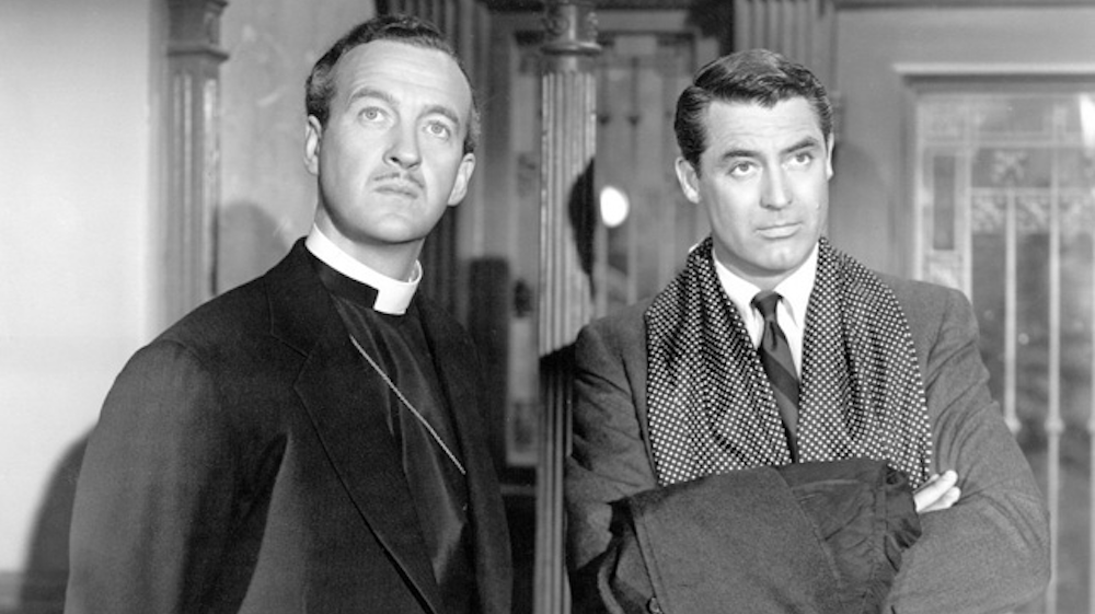 movies, celebs, the bishop's wife, 1947, david niven, Cary Grant