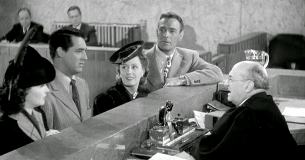 movies, my favorite wife, 1940, irene dunne, Cary Grant