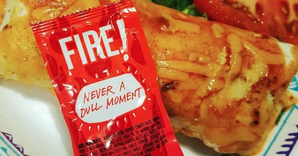 taco bell hot sauce in packet, food ranking