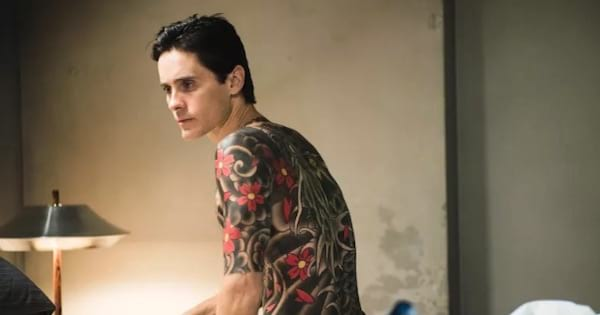 jared leto the outsider sitting on bed, movies ranking netflix