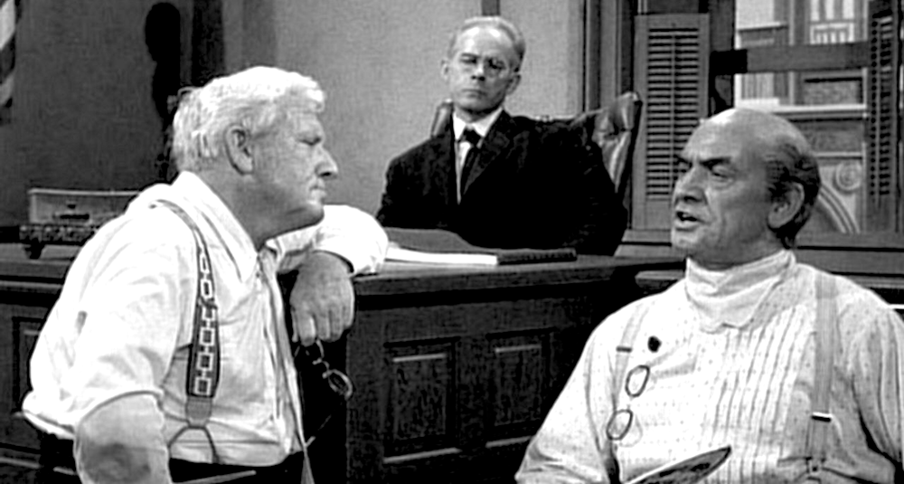 movies, inherit the wind, 1960, Spencer Tracy, frederic march