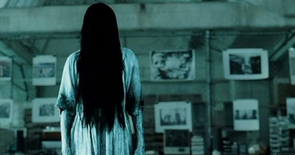 girl with long dark hair in front of face in the ring, movies ranking