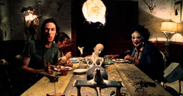 people scared sitting at table, movies horror ranking