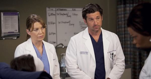 meredith grey and derek shepherd, grey's anatomy quiz