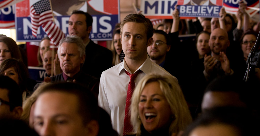 movies, celebs, the ides of march, 2011, ryan gosling