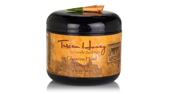 Check Out These Great Lotions, closeup of Tuscan Honey Glycerine Hand Therapy by Camille Beckman, beauty, health