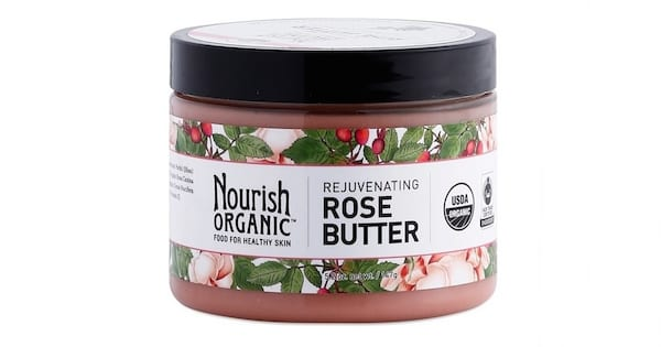 Check Out These Great Lotions, closeup of Rejuvenating Rose Butter by Nourish Organic, health, beauty