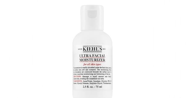 Check Out These Great Lotions, closeup of Kiehl's Ultra Facial Moisturizer, health, beauty