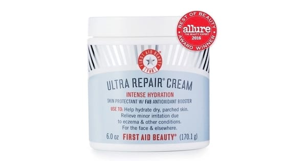 Check Out These Great Lotions, closeup of First Aid Beauty's Ultra Repair Cream, health, beauty