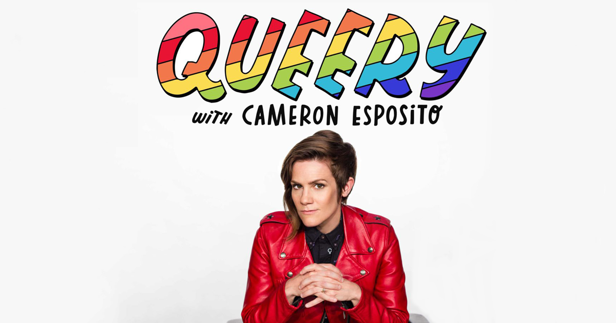 The Best LGBT Podcasts, the logo of the Queery podcast, culture
