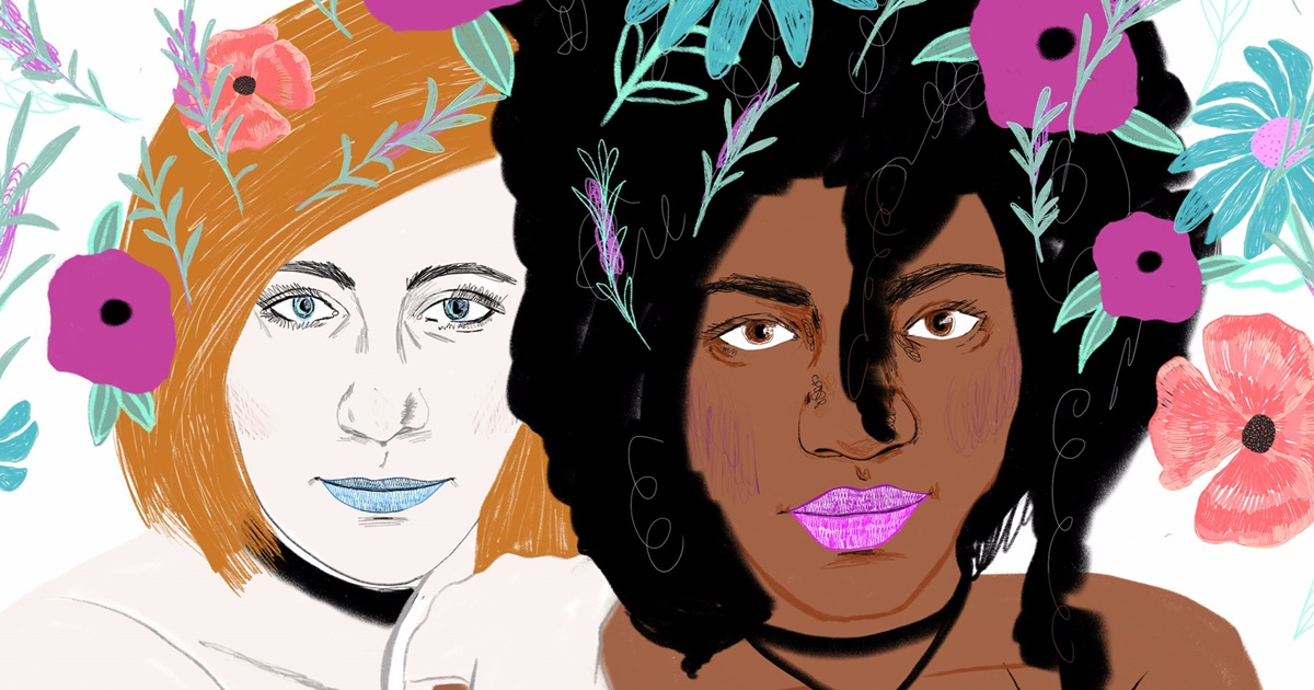 The Best LGBT Podcasts, the cover image of Femme, Collectively podcast, culture