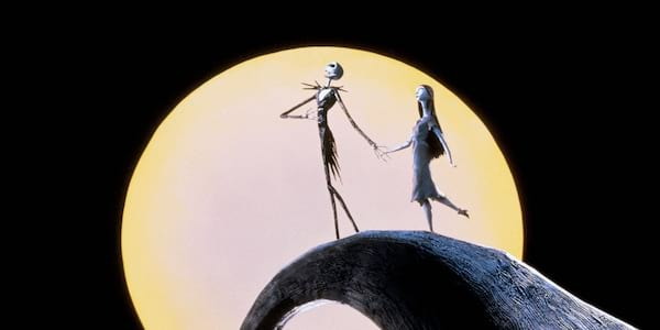 Scene from the movie A Nightmare Before Christmas