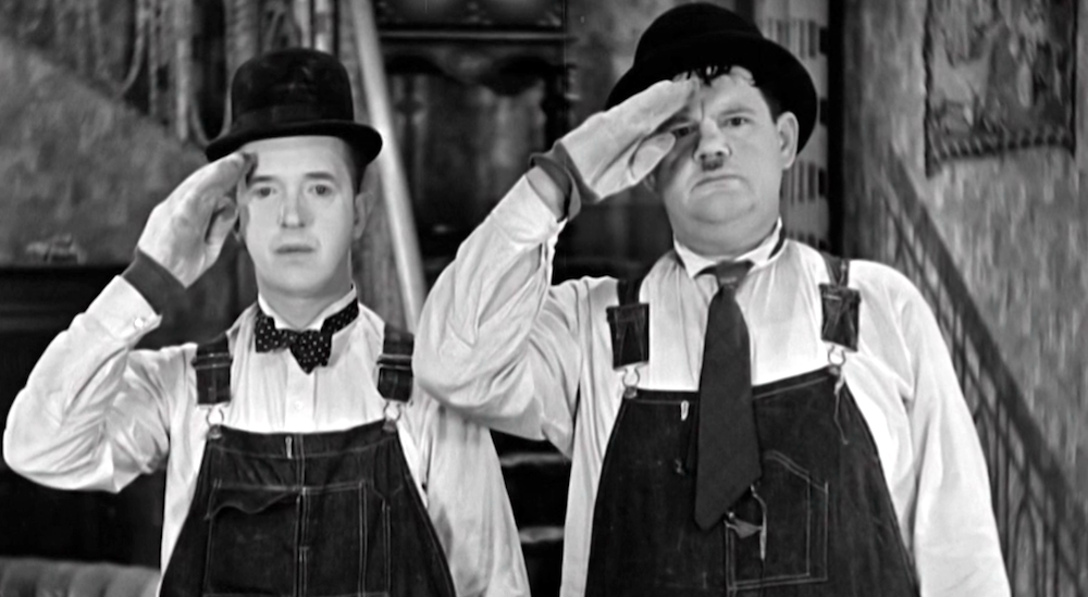 movies, the music box, 1932, stan laurel, oliver hardy, comedy
