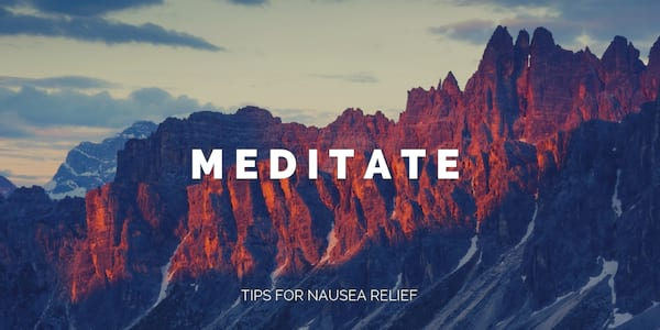 tips for nausea relief