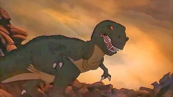 movies, The Land Before Time, 1988, sharptooth