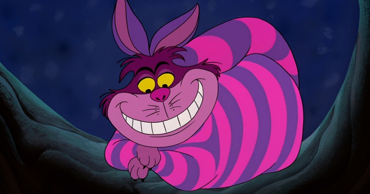 alice in wonderland, Disney, cat, Cheshire Cat