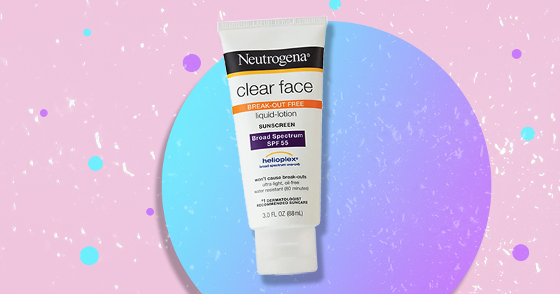 best facial sunscreens for acne-prone skin 2018
