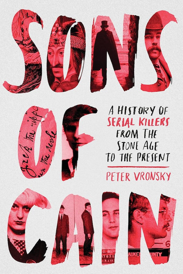 True Crime Books, cover of Sons of Cain by Peter Vronsky, books