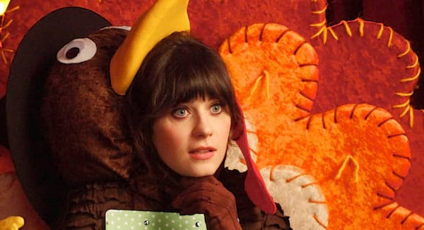 new girl, thanksgiving, jessica