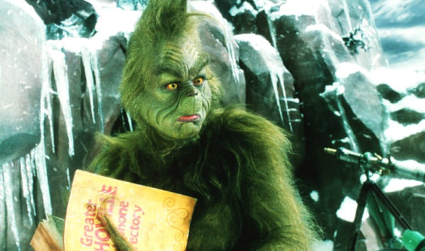 movies, how the grinch stole christmas, 2000, jim carrey