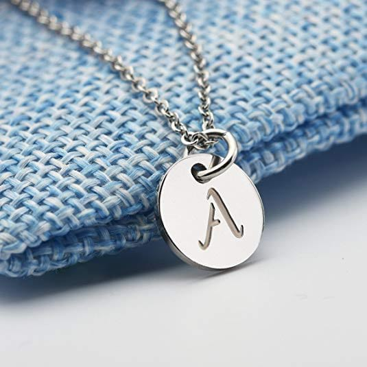 Personalized necklace from Amazon