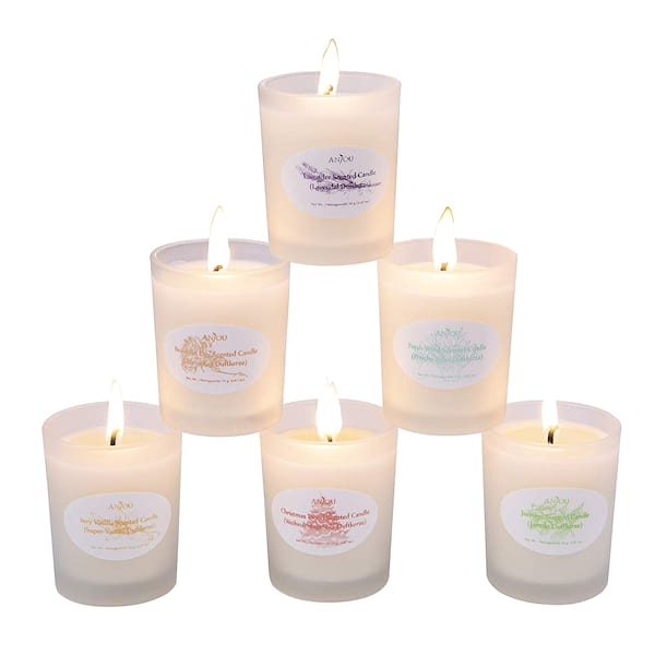 Anjou scented candle six pack gift set from Amazon