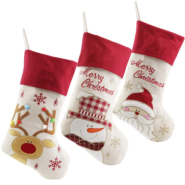 Wewill lovely Christmas stockings from Amazon
